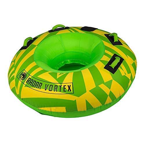 Radar Vortex 1-Person Tube - Yellow/Green