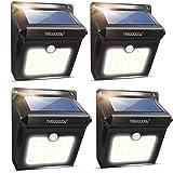 Solar Lights, Neloodony Solar Motion Sensor Security Lights 28 LED Waterproof Solar Powered