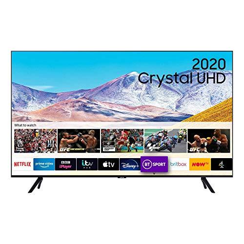 """Samsung 55"""" TU8000 HDR Smart 4K TV with Tizen OS Black"""
