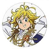 Cluis Los siete pecados mortales broches, dibujos animados anime insignia accesorios para ropa, mochila decoración anime fans regalo (estilo 02)