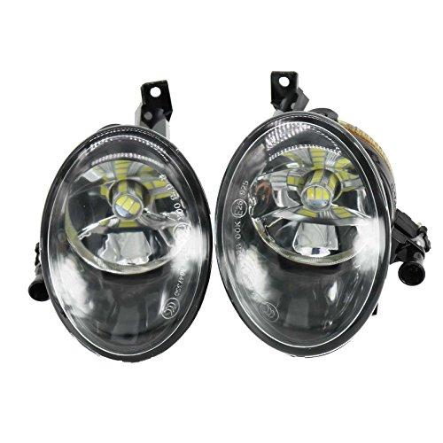 LED Light For VolksWagen VW Touareg 2011-2014 Car-Styling Front LED Fog Light Fog Lamp With Bulbs