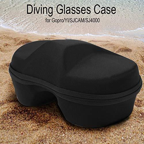 minifinker Estuche de Almacenamiento de máscara de Buceo fácil de Llevar Material calificado, para Gafas de Buceo de Sj4000, etc.