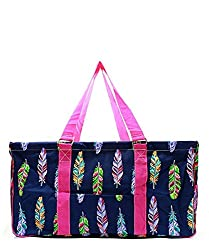 cheap N. Gil 23 Classic Extra Large Utility Bag 2 (Pink Feather) X-Large Open Top Shopping Bag""