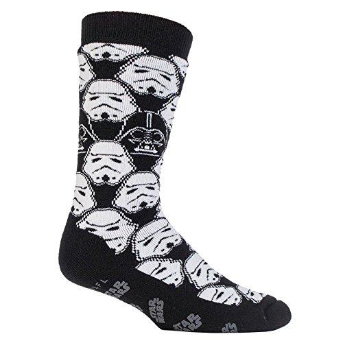 HEAT HOLDERS - Hombre Niños Disney Star Wars Calientes Fantasia Térmico Calcetines para Fans de La guerra de las galaxias (39-45 eu, Storm Trooper)