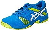 ASICS Gel-Blast 7 GS, Chaussures de Handball américain Mixte bébé, Multicolore (Directoire Blue/Energy Green/White), 37 EU