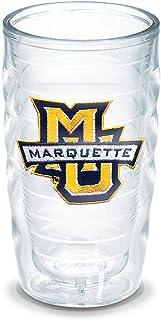 Tervis Marquette University Emblem Individual Tumbler, 10 oz, Clear