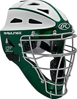 Rawlings 体育用品垒球防护曲棍球风格捕手头盔成人款 SBCHVEL