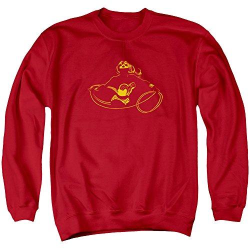 DC Wonder Min Sweat-shirt à col rond sous licence officielle pour adulte