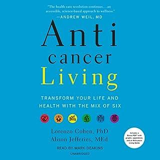 Anticancer Living audiobook cover art