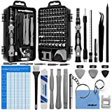 oGoDeal DIY Tool kit Precision Screwdriver Set 127 in 1 Pry <span class='highlight'>Hand</span> <span class='highlight'>Tools</span> for Fixing Computer,Mobile Phone,PC Laptop,Tablet,iPad,Watch, Jewelry, Eyeglasses,PS3,PS4,Xbox,Nintendo (Gray)