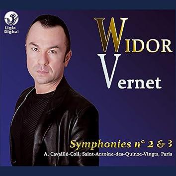 Widor: Symphonies Nos. 2 & 3