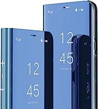 ISADENSER Huawei Mate 20 Case Huawei Mate 20 Cover Luxury View Flip Electroplate Plating Mirror Makeup Glitter Slim Wallet...