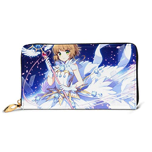 Cardcaptor Sakura Leather Wallet Leather Craft Wallet Credit Card Holder Men's, Women's, Junior Wallet