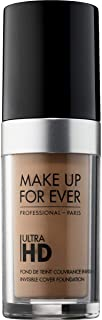 Make Up For Ever Ultra HD Invisible Cover Foundation 145-R360, Neutral (I000032360)