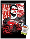 DC Comics Movie - Batman v Superman - False God Wall Poster with Push Pins