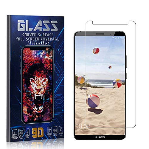 MelinHot Displayschutzfolie für Huawei Mate 10 Pro, Anti Fingerabdruck, Ultra Dünn Blasenfrei Schutzfolie aus Gehärtetem Glas für Huawei Mate 10 Pro, 4 Stück