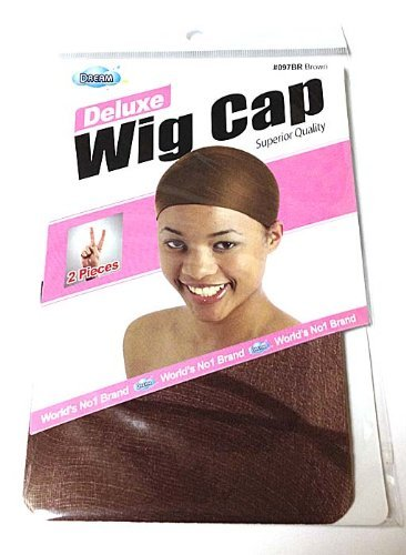 Dream Deluxe Wig Cap 2 Piece Package BROWN by Dream