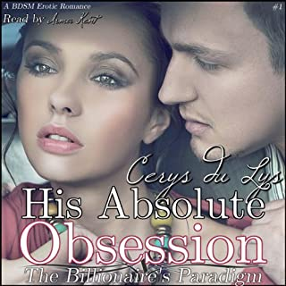 His Absolute Obsession audiobook cover art