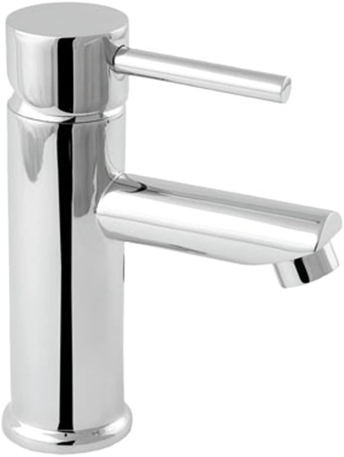 Deva INS113 Insignia Mono Basin Mixer Tap with Press Top Waste Chrome Finish