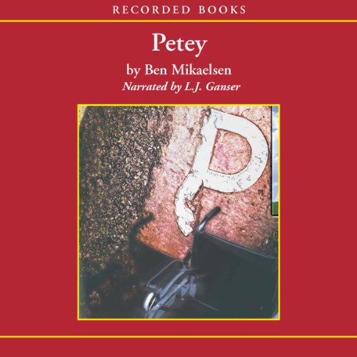 Petey  audiobook cover art