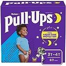 Pull-Ups Night-Time Boys' Training Pants, 3T-4T, 60 Ct