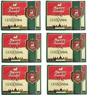 Mysore Sandal 6 Centennial Soap, 100 g