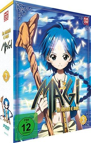 Magi: The Labyrinth of Magic - Staffel 1 - Vol.3 - [DVD]