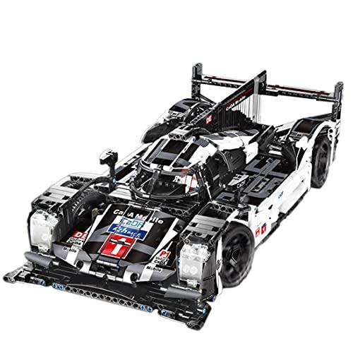 Lhl Technics - Coche compatible con 1586 piezas estáticas de bricolaje para coches de carreras de coches de juguete para niños, adultos