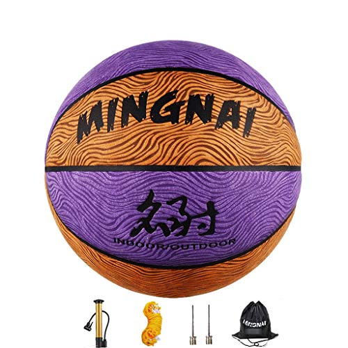 Buy Discount YE ZI Basketballs- Standard Basketball Indoor and Outdoor No. 7 Basketball Size 9.7 inc...