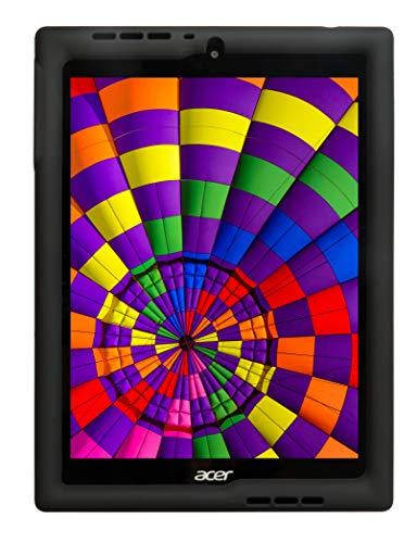 BobjGear Bobj Rugged Tablet Case for Acer Chromebook Tab 10 (D651N) Kid Friendly (Bold Black)