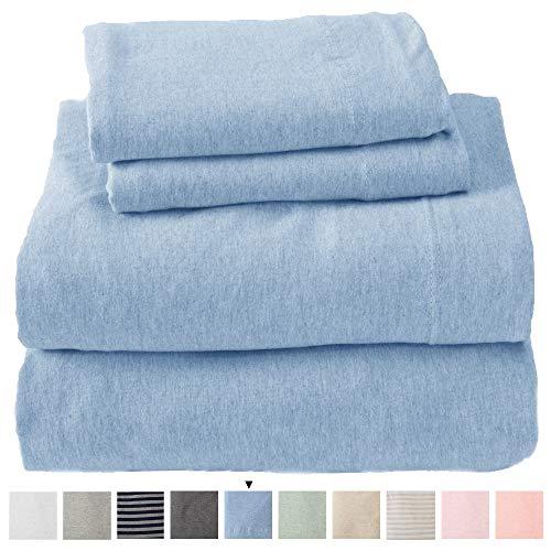 Great Bay Home Jersey Knit Sheets. All Season,...