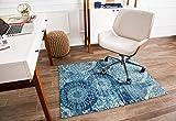 Anji Mountain Rug'd Collection Chair Mat, 36 x 48-Inch, Maldives
