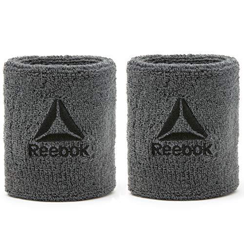 Reebok Unisex Adult Sports Wristbands Reebok SchWeiß b nder, Grau, Short EU