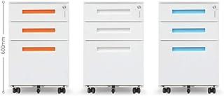 Armoire de bureau Classeur mobile en fer grande capacité avec tiroir et tiroirs avec serrure antivol Tiroirs multicouches ...