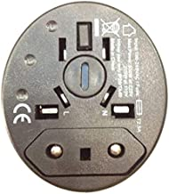 UNIVERSAL POWER PLUG ADAPTER :GLOBAL TRAVEL SAFETY ADAPTER