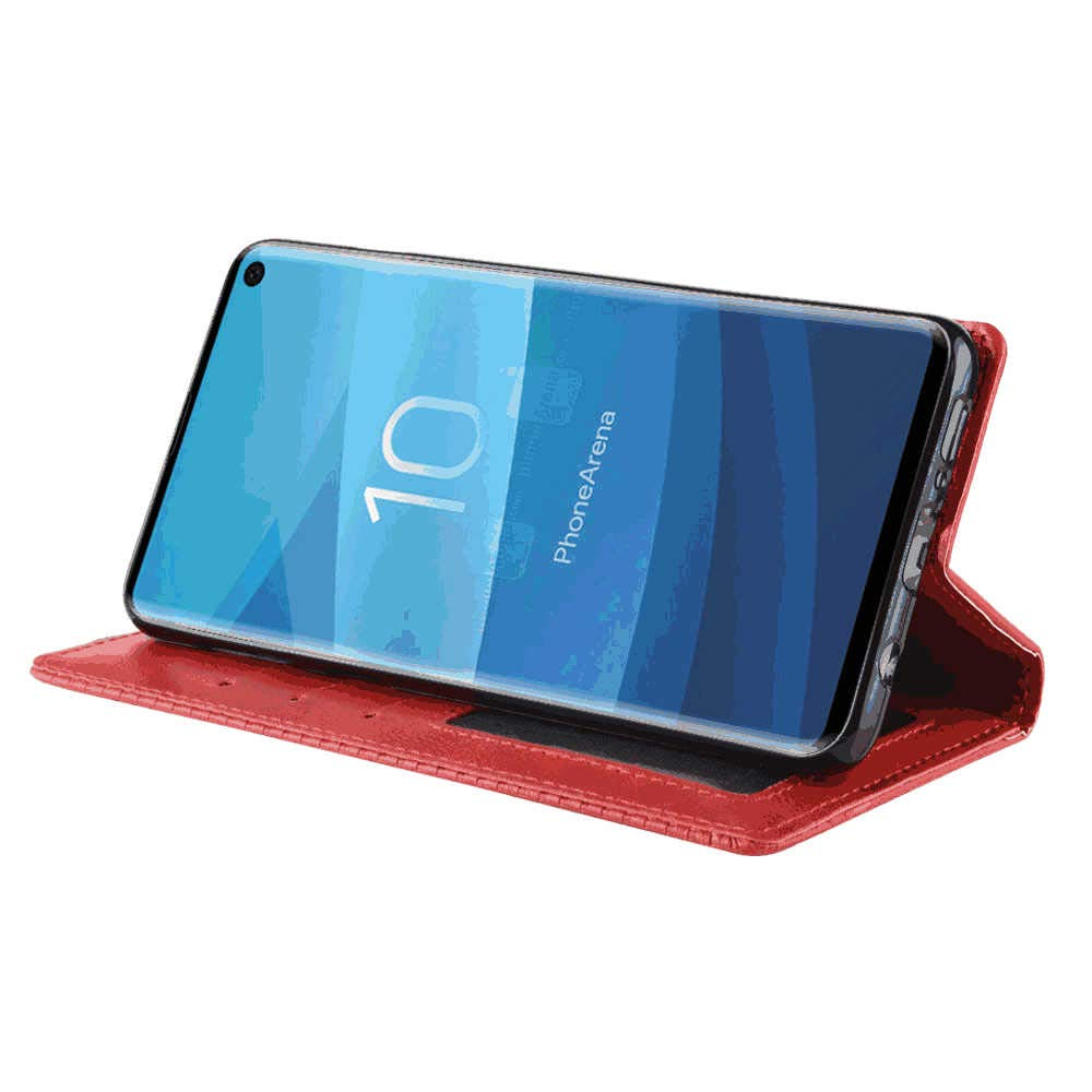 Samsung Galaxy S8 Flip Case Cover for Samsung Galaxy S8 Leather Premium Business Kickstand Card Holders Cell Phone case with Free Waterproof-Bag Business