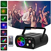 Hemucun 2 in 1 Sound Activated Disco Light with Remote Control