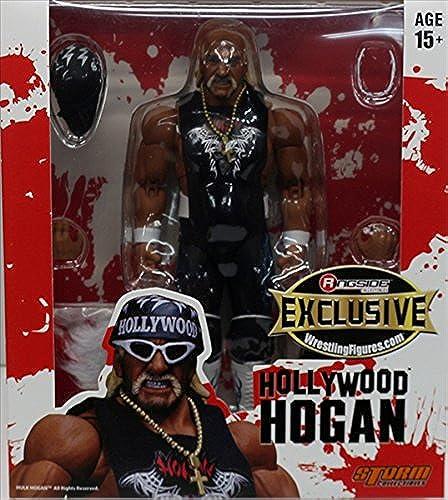 los clientes primero Wrestling negro & blanco blanco blanco NWO Action Figure Hulk Hogan Hollywood WWE Elite  oferta de tienda