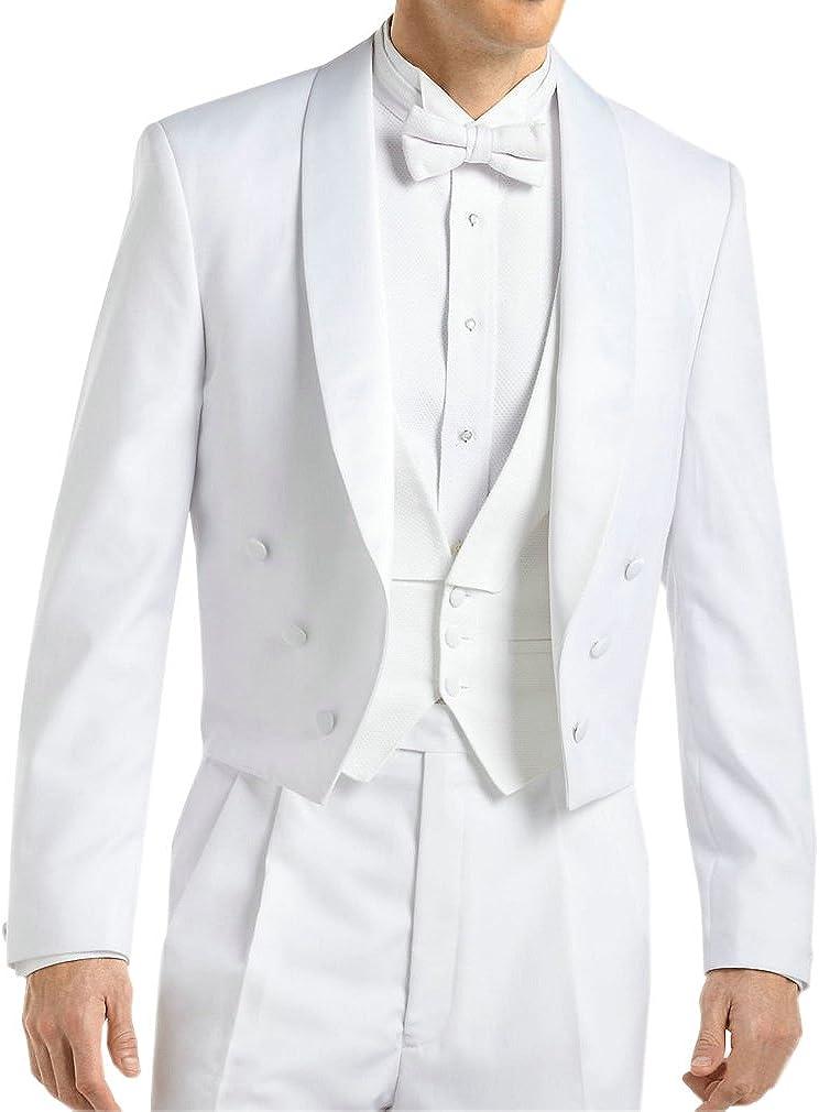 HZWL Groom Tuxedos Groomsmen Best Man Suit Wedding Groomsman/Men Suits Bridegroom(Jacket+Pants+Tie+Vest)