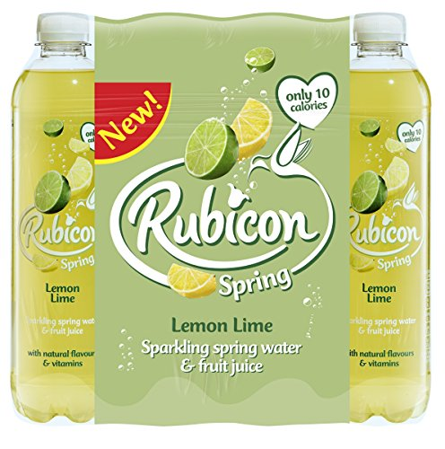 Rubicon Spring Lemon Lime Aroma Sparkling Spring Water, 12 x 500 ml