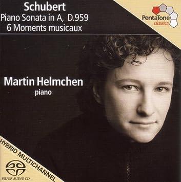 Schubert, F.: Piano Sonata No. 20, D. 959 / 6 Moments Musicaux, D. 780