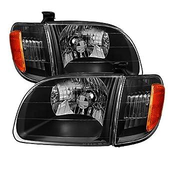 Xtune HD-JH-TTUN00-AM-BK Toyota Tundra Headlight