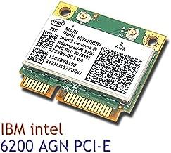 Intel® Centrino® Advanced-n 6200 802.11n Half Pcie Half Mini Wireless Card 802.11 A/g/n 2.4 Ghz and 5.0 Ghz 300 Mbps 622anhmw
