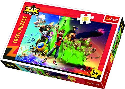 TREFL 5900511163414 Puzzle Puzzle - Rompecabezas (Puzzle Rompecabezas, Dibujos, Niños, Zak Storm, Niño/niña, 5 año(s))
