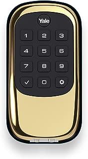 Yale Security YRD110NR605 Keypad Deadbolt, Polished Brass