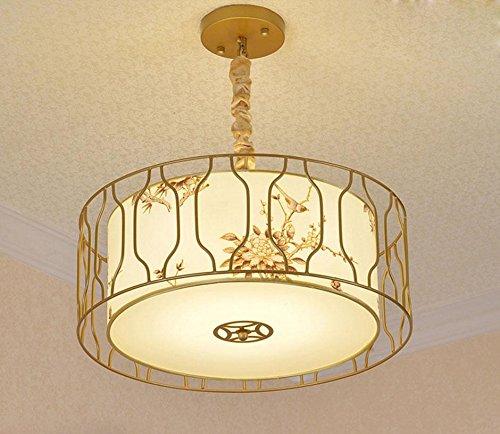 Lampes pendantes modernes / pendentif Lampe orale locale 45CM Textile / Tissu / Etui rond LED E27 Max 40W