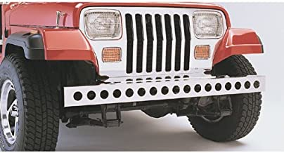 Rugged Ridge 11107.02 Stainless Steel Front Bumper Overlay with Holes