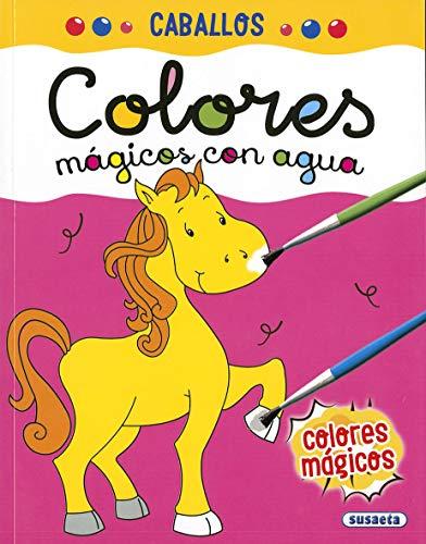 Caballos (Colores mágicos con agua)