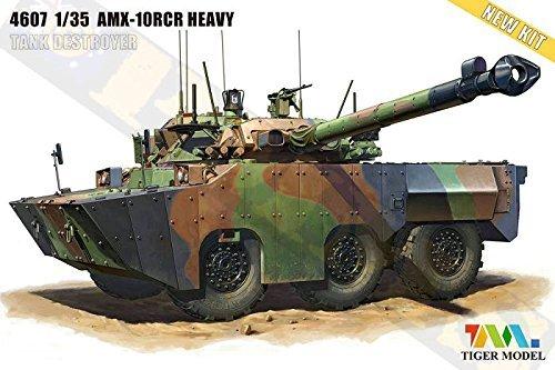 Tiger Model 1:35 AMX-10RCR SEPAR HEAVY TANK DESTROYER #4607 by Tiger Model