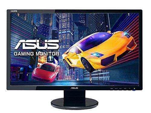 Asus VE248HR 61 cm (24 Zoll) Monitor (VGA, DVI, HDMI,1ms Reaktionszeit) schwarz